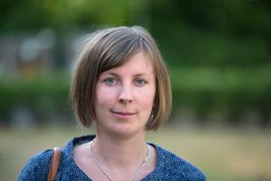 Hanna Klingborg (MP), ordförande i Järna kommundelsnämnd.