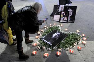Manifestation mot hedersförtryck och våld i hederns namn. Foto: Janerik Henriksson / SCANPIX