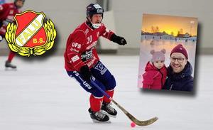 Nicklas Andersson är ny klubbchef i Falu BS. Bilder: Falu BS
