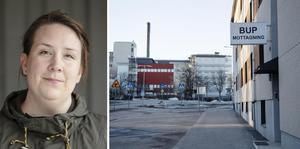 Kristina Wallin, sjuksköterska. BUP Örnsköldsvik, är en av insändarskribenterna.