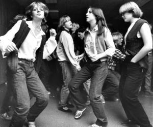 Helena Sandberg, Ulrica Swahn och Helene Stenmark dansade loss när Disco Oden hade premiär i november 1979.