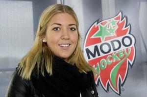 Erika Grahm är en av fem Modoiter som tagits ut till OS i Sotji.
