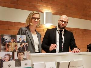 Åklagare Frida Molander är förundersökningsledare och biträds av åklagare Jon Runebjer i samband med härvan efter sprängningen av ett vapenskåp i Laxsjö.