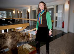 Rebecka Bjurhall, miljösamordnare, betonar vikten av att alla hjälper till för att vi ska nå länets regionala miljömål