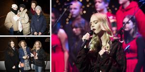 Många ville se estetiska programmets julshow i Hedbergska skolans aula på onsdagskvällen.