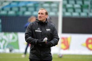 Micke Bengtsson under sin tid som tränare i SDFF.