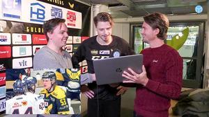 Jimmie Jansson spanar in bilden i Sportens livesändning.