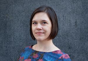 Lina Stenberg, ledarkrönikör Länstidningen Östersund. Foto: Tankesmedjan Tiden
