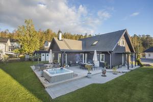 Etta på Klicktoppen i veckan som gick är den här villan i Lillån. Foto: Michael Almebäck