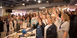 USÖ är landets bästa universitetssjukhus för andra året i rad - det ska firas.