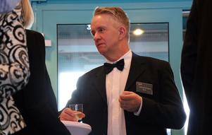Micael Ericsson var på plats för att dela ut SCA:s pris till Årets skogsägare.