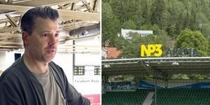 Färre restauranggäster gör att restaurangen i NP3 arena stänger av en våning för lunchservering. Bilder: Ida Vanhainen och Olle Larsson