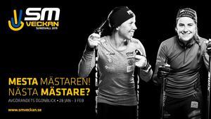 Charlotte Kalla och Ebba Andersson är de stora affischnamnen. Bild: Kristoffer Lönnå