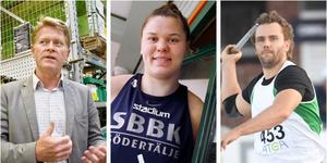 Foto: montage. Anders Nielsen, till vänster, Ulrika Holmqvist i mitten, Gabriel Wallin till höger, föreslås bli en del av SBBK:s nya styrelse.