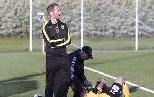 Idag är Mikael Wiker tränare i Arboga Södra och ser fram emot onsdagens derby mot KFF. Foto: BBLAT-arkiv
