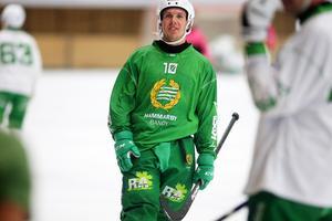 Ted Bergström väntas spela huvudrollen i Hammarbys helt nya anfallslinje.