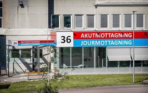 Akutmottagningen vid Västmanlands sjukhus i Västerås.