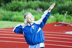 Jonna Persson, Vemhån, 12 år, under Öpiadens poängjakt i Hede den 27 juli 2016.