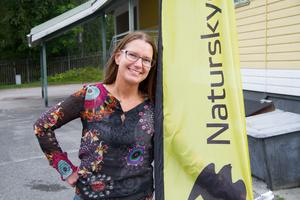Pia Boiardt var tidigare aktiv vänsterpartist i Fagersta, men är numera ordförande för Naturskyddsföreningen i bruksorten.