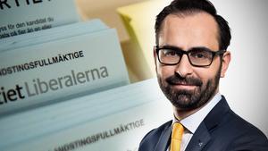 Ninos Maraha fick procentuellt flest röster inom sitt parti med 17,52 procent och vill nu satsa på hälso- och sjukvårdsnämnden. Bilden är ett montage.