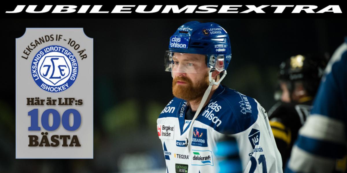 LIF:s 100 BÄSTA – Nummer 61: En spelskicklig och NHL-meriterad Borlängeson
