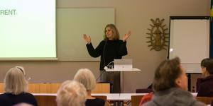 Johanna Ragnartz, vd för Håll Sverige Rent, besökte Södertälje.