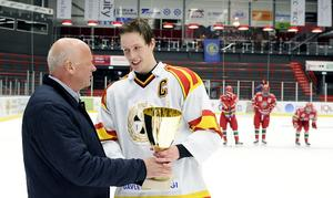Göransson vann J18-guld med Brynäs innan han drog över till Nordamerika. Foto: Bildbyrån.