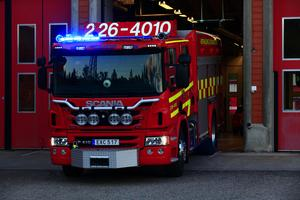 Ett larm om en eventuell brand i ett flerfamiljshus på Hagalund i Borlänge inkom på måndagskvällen. Obs: Bilden är tagen i ett annat sammanhang.
