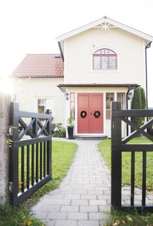 John och Veronica Hannés hem på Essvik i Kvissleby.