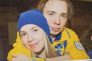 Ett familjefoto på syskonen Sofia och Patric Mabergs, som togs för sex år sedan.