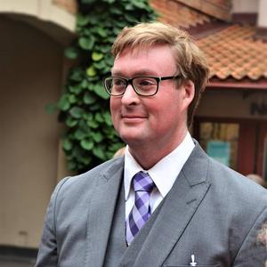 Mikael Gånemo, ordförande i Iktyosföreningen.