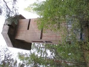 Luftvärnstorn vid Kvarnberget i Falun. Foto: Jan Erik Ohlsson