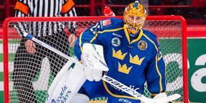 Jacob Markström är inte anmäld till VM-premären. Bild: Simon Hastegård/Bildbyrån