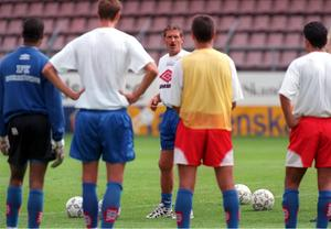 Likt Grönhagen har Olle Nordin gjort avtryck i historieböckerna som tränare, bland annat för svenska landslaget.