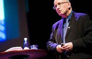 Bengt Marsh var en av många som tog sikte på en spännande framtid i Östersunds kommun. Foto: Håkan Luthman