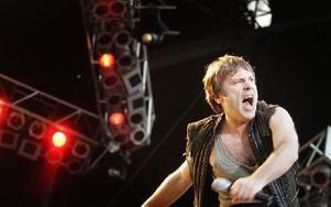 Iron Maiden kommer till Norrköping i sommar. Foto: NILS PETTER NILSSON