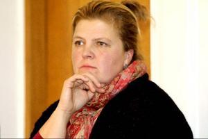 Ordförande Marika Engberg har anledning att vara bekymrad