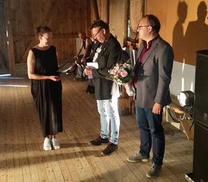 På söndagen mottog Helena Byström Pappers kulturpris för sin dansopera Blånagla.
