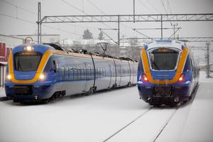 Botniatåg har problem med inställda tåg och även förseningar den här veckan.