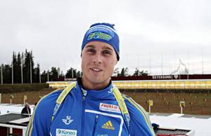 Christofer Eriksson jagar en plats i Sveriges VC-lag till premiären i Östersund. Han konkurrerar främst mot Ted Armgren och Tobias Arwidson.Arkivbild: Helena Modigh