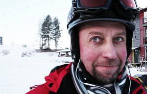 – Det känns lite ovant, säger Niklas Palm från Sandviken.