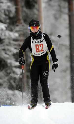 Julia Lundmark, Kvarnsveden segrare i D 9-10.