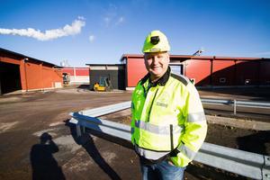 Peter Franklin, fabrikschef på Scandbio i Norberg.