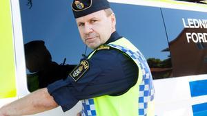 Anton Breznik, ställföreträdande lokalpolisområdeschef i Västra Mälardalen. Foto: Erik Inge.