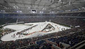 På Veltins-Arena i Gelsenkirchen kommer det återigen att tävlas i skidskytte under mellandagarna.