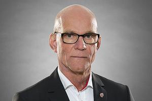 Börje Lindholm, tillförordnad vd för Modo Hockey.
