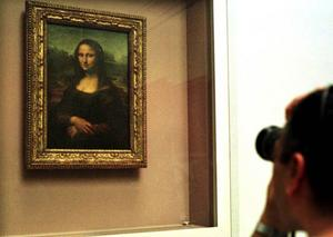 """Mona Lisa"" lockar  i Paris.Foto: Scanpix"