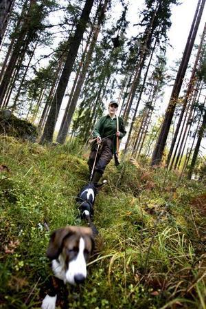 JAQT. Gunilla Landell är en av jägarna som är med i den lokala grenen av det kvinnliga jaktnätverket JAQT.