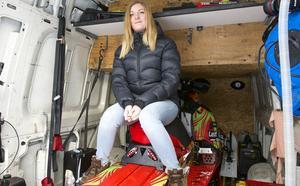 Kommunens idrottspristagare Emilia Dahlgren.