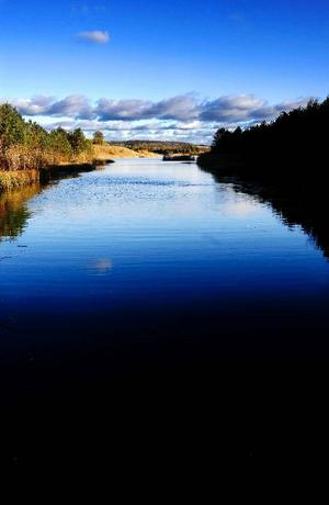 Det gamla dagbrottet är i dag vattenfyllt och ser i princip ut som vilken sjö som helst.